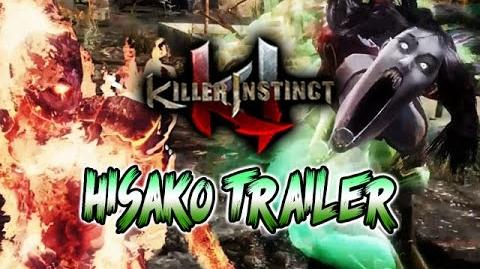 HISAKO TRAILER & CINDER TEASER - Killer Instinct Season 2