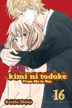 Kimi ni Todoke Manga v16 cover en