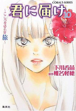 Kimi ni Todoke Light Novel v10 cover
