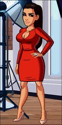 Kim RedDress