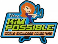 Sk kim possible world showcase adventure logo