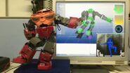 Kinect robot