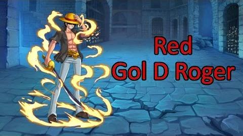 Red Gol D Roger - Sailing World KOP Pirates King Pirates Legend Eskeysis