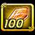 Crystal orange 100