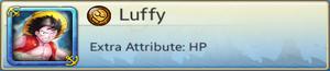 Bond Partner - Luffy (Blue)