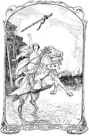 HJ Ford's Morgan Casts Away Excalibur's Scabbard
