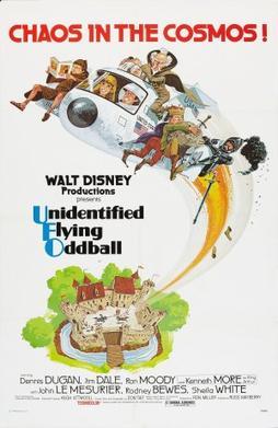 Unidentified Flying Oddball poster