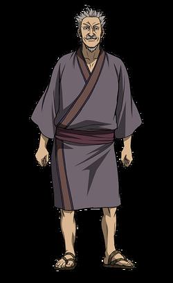 Hai Rou Character Design anime S2