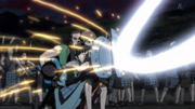 Taku Kei, Bi Hei And Bi Tou Save Shin From Hou Ken's Strike anime S1
