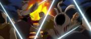 Kyou Shou And Kyou Kai Slays The Group of Villagers anime S1