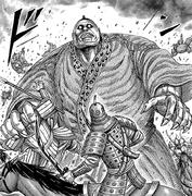 Futei frightened by rankai