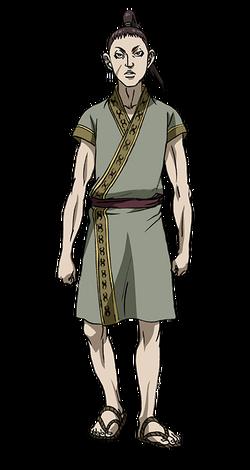 Kou Shou Character Design anime S2