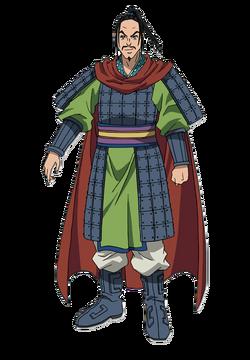 Heki Character Design anime S1