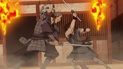 Shin Cuts Down Ran Dou anime S2