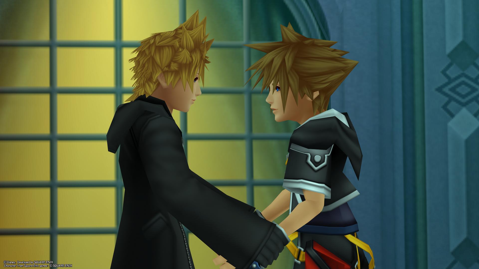 File:Roxas & Sora (Screenshot) KH3D.png