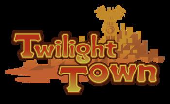 Twilight Town Logo KHCOM