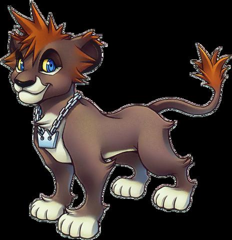 File:Sora- Lion Form (Art) KHII.png