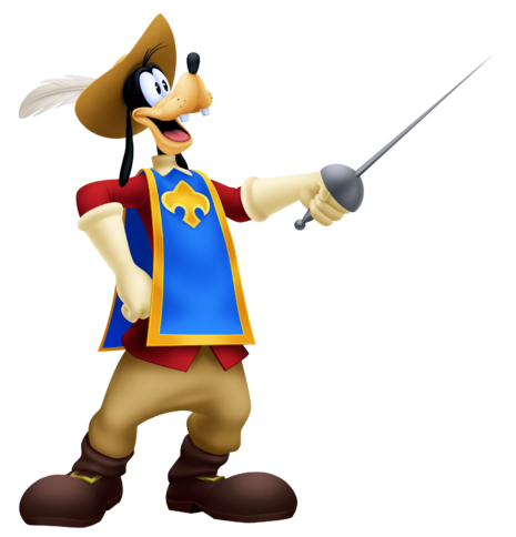 File:Goofy- Musketeer Outfit KH3D.png