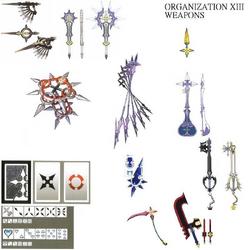 Organization XIII's Weapons (Art) KHII