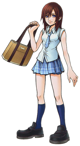File:Kairi in School Uniform (Art) KHII.png