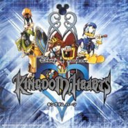 Kingdom Hearts Original Soundtrack Album Cover