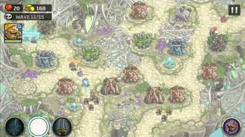 Kingdom Rush Origins Gameplay Mactans Retreat Veteran 3 Stars
