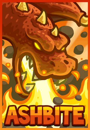 Ashbite the Dragon