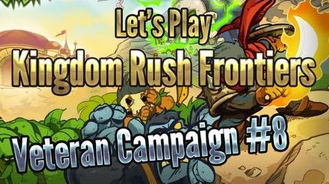Kingdom Rush Frontiers - Snapvine Bridge (Level 8) - 3 Stars Veteran Campaign - iOS Game Walkthrough