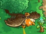 KRO Gryphon Rider in flight