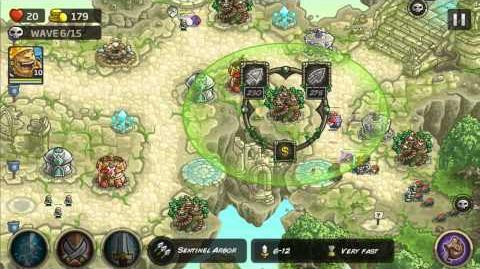 Kingdom Rush Origins Gameplay The Ascent Veteran 3 Stars