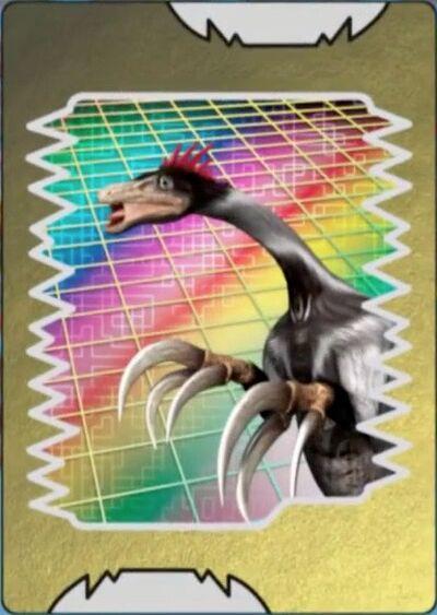 Therizinosaurus card
