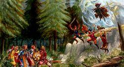 Shaman ambush
