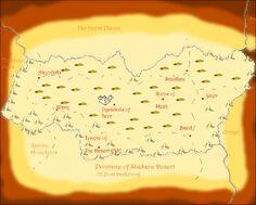 Shakara Desert Map