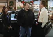 Carrie Arthur talks to Marty the car salesman
