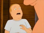 Bobby screams after seeing Luanne Naked