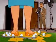 Peggy's Feet full of Eggs