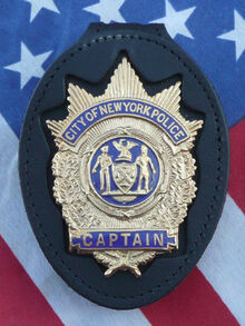 Captain (nypd) badge