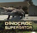 Динокрок против Супергатора