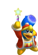 King Dedede With Star Rod