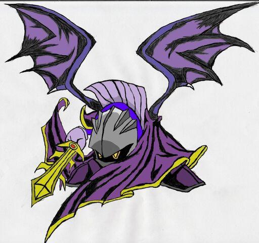File:Meta knight by niviadragonrider.jpg