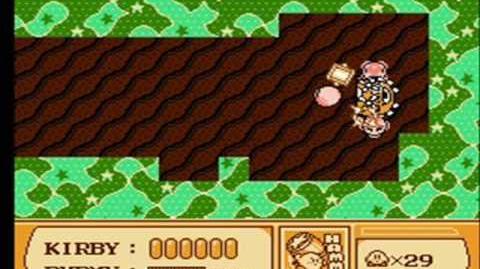 Kirby's Adventure walkthrough Vs. Heavy Mole