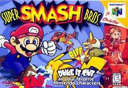 Smash bross caratula