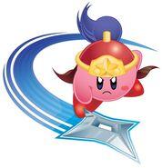 Ninja Kirby KRAT