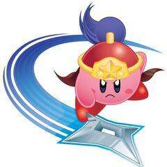 Kirby Ninja en <a href=