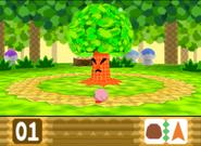Whispy Woods enfadado Kirby 64