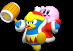 Rey Dedede y Kirby