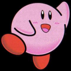 Artwork de Kirby en <i><a href=