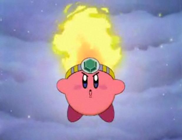 Anime Characters Kirby Wiki : Image fire kirby anime g wiki fandom powered