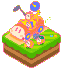 File:K25 Waddle Dee Reporters artwork.png