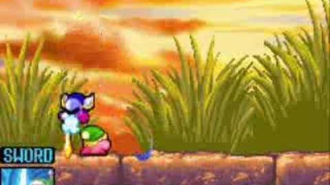Kirby And The Amazing Mirror Boss??? (Dark Meta Knight)